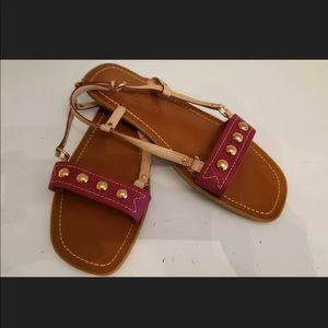 Louis Vuitton Flat Studded Sandals